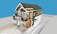 The ABC Green Home 4.0 Designed in BIM