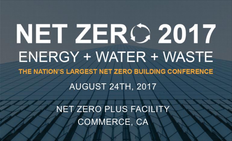 Net Zero 2017 Conference Keynote Speaker Kevin de León Receives Standing Ovation