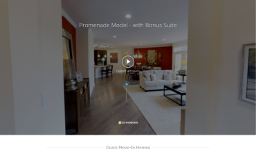 New Epcon Communities Website Uses Virtual Tours, Videos, to Engage 55+ Homebuyers