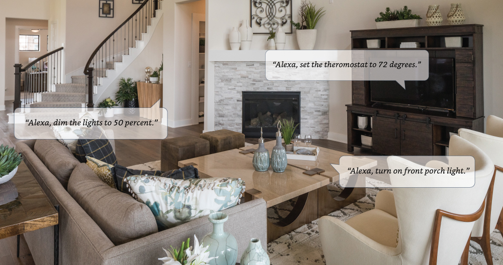 Trendmaker Homes Delivers Smart Homes Featuring Amazon