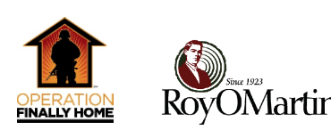 Operation FINALLY HOME Announces Partnership with RoyOMartin