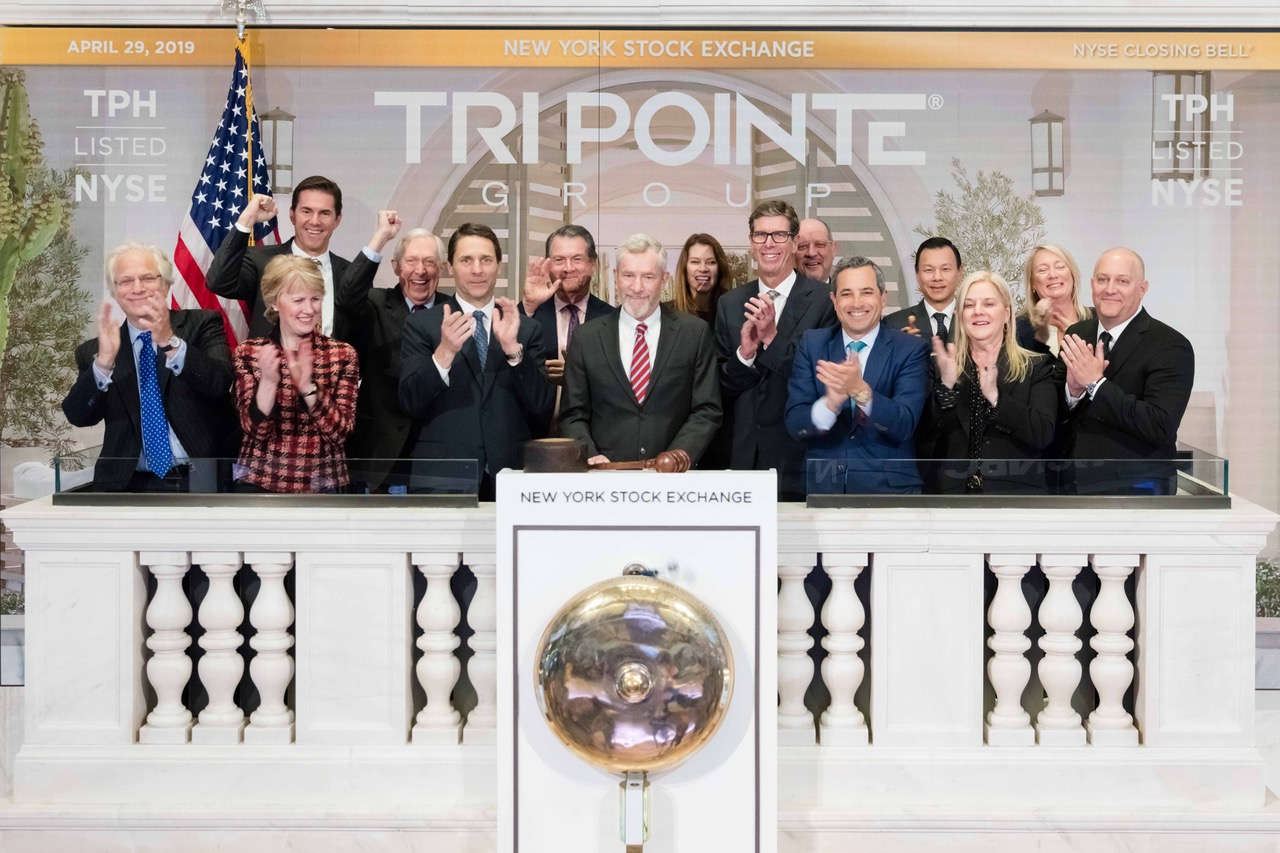The New York Stock Exchange welcomes TRI Pointe Group Inc (NYSE: TRI) to commemorate 10 years in business.