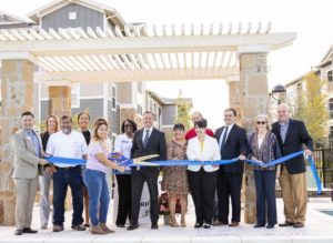 Officials Cut Ribbon on The Bridge at Harris Ridge, Affordable Housing Community in Austin's Tech Ridge Area