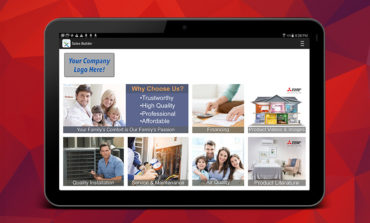 Mitsubishi Electric Trane HVAC US Introduces Improved Capabilities to Sales Builder Pro Mobile App for HVAC Pros